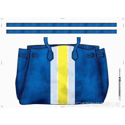 广州大型烫画生产厂家直供时尚女包烫画 高品质 低价格 出货快
