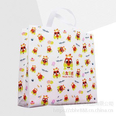 无纺布购物袋 淄博厂家定制 双面满版覆膜手提袋