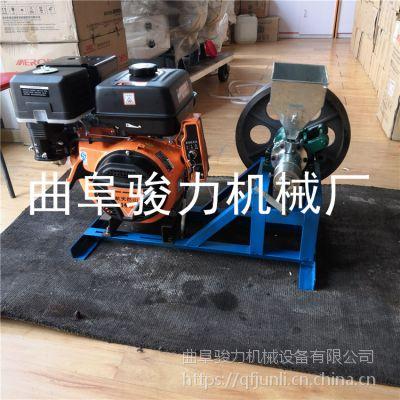 单缸汽油机膨化机多少钱 十用谷物空心棒机 箱式弯管机图片参考 骏力机械