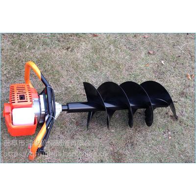 便携式挖坑机 汽油螺旋冰钻 荒地植树挖坑机