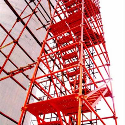 建筑安全梯笼 爬梯护笼 基坑安全梯笼 组合式梯笼厂家大量现货