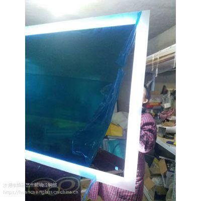 厂家直销新款LED灯镜 防水除雾多功能浴室镜 简约时尚智能镜定制