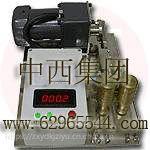 中西硬度计/颗粒硬度计/过硬颗粒测定仪(测牙膏的硬度) 型号:GQH1-MS//HLJ1-MS库号: