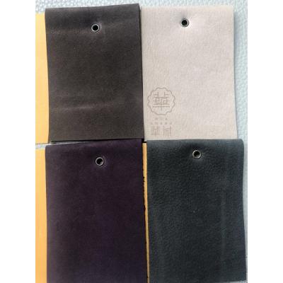 厂家1.2-1.8MM磨砂皮革,二层磨砂牛皮,反绒皮 高档沙发皮料