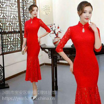 宝安(公明|石岩|西乡)天虹沃尔玛附近旗袍店的旗袍零售批发团购
