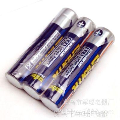 厂家批发  7号易博特电池 7号电池 光明AAA电池 光明七号电池