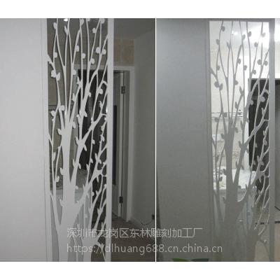 企业形象墙室内电视背景墙装饰板材波浪板通花板专业定制