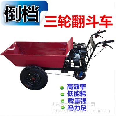 人字胎工程斗车 带发动机的小推车 奔力FD-K03
