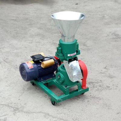 澜海 鸡鸭鹅电动饲料颗粒机厂家 猪饲料机120型