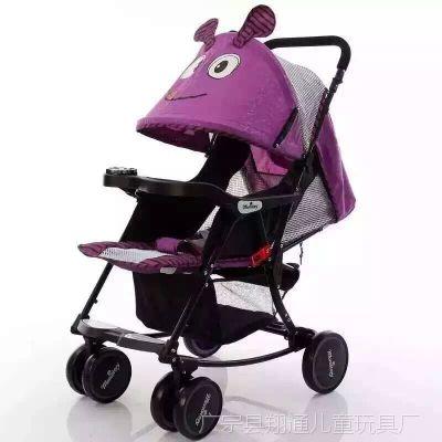 新品上市儿童推车 可摇摆可推可躺 超级带KTM猫头多功能推车