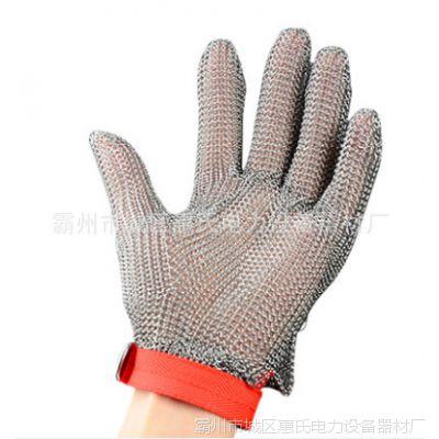 加厚5级钢丝防割手套防刃防刺防刀防身手套防爆耐磨安防全指劳保