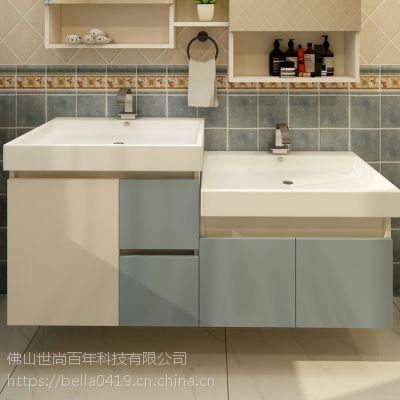 尚百年全铝家居铝制整板板式家居环保防潮防水北欧风格洗手盆型材厂家直销