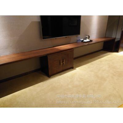 森美源直销简约快捷酒店公寓家具床商务宾馆标间1.2米单人床定制