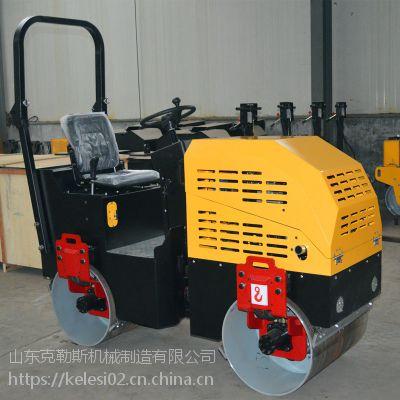 克勒斯双钢轮振动压土机厂家 全液压单钢轮振动压路机