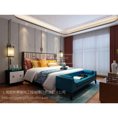 新中式别墅装修设计|诗情画意|新中式别墅装修案例