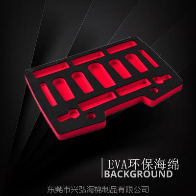 EVA泡棉厂家 铝箱EVA内衬一体成型雕刻内衬