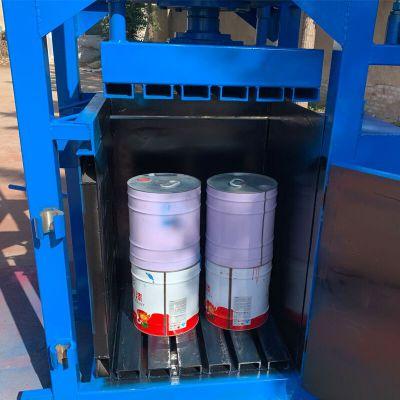废纸编织袋液压打包机 双缸立式液压打包机 废纸压缩打包机