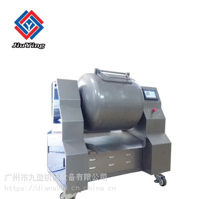 厂家直销九盈机械JYG-500商用全自动滚揉机 不锈钢真空滚揉机 鸡肉腌制滚揉机