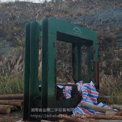 【8成新 】二手木工热压机 12压11层400吨 成都同茂