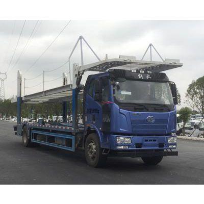 一汽解放车辆运输车 半挂轿运车厂家1.6L