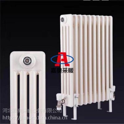 QFGZ415钢制柱型水暖散热器@钢制圆四柱暖气片-德圣玛
