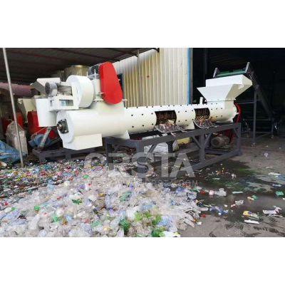 CRSTA供货广东矿泉水瓶脱纸机Q150 回收瓶标签脱标机