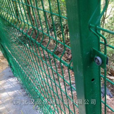 顶部折弯直框网 公路护栏网