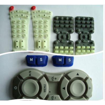 中国造中山市按键遥控 密封垫O圈 2.4驱动器硅胶制品厂家直销 可订做【美榄硅胶】