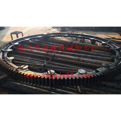 天津φ2.5米回转窑大齿轮快速定做 铸钢回转窑大齿轮厂家直销