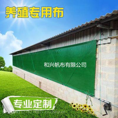 猪栏篷布厂家 白色透光PVC涂塑布窗帘布 养殖场防水帆布批发零售