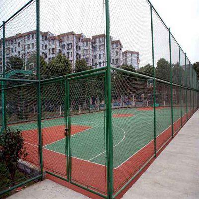 休闲体育广场围栏 篮球场围网 球场护栏网