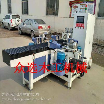 众选数控自动生产实木门设备木工家具制造设备厂家