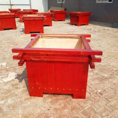 廊坊木质花箱、种植木箱、户外花箱
