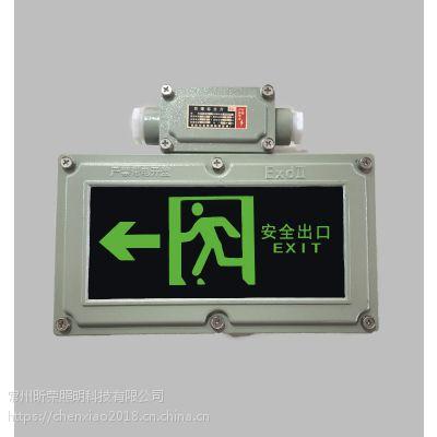 BYW6190防爆标志灯 LED防爆安全出口指示灯 BYY隔爆型应急疏散灯