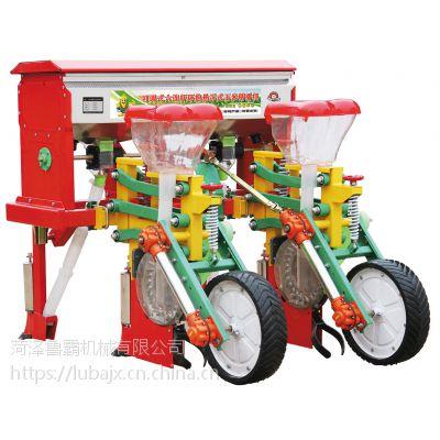 多行玉米播种机 农用四轮拖拉机配套玉米施肥精播一体机菏泽鲁霸
