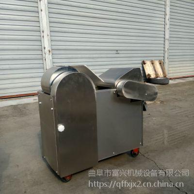 大型尖椒切丝机 蒜苔豆角不锈钢切段机 多功能家用切菜机富兴