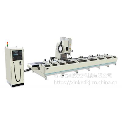 信刻数控型材加工中心 铝型材三轴数控加工中心
