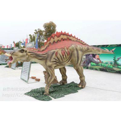 自贡工厂1-30米大型仿真恐龙模型出租出售
