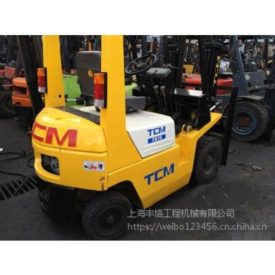 出售二手叉车杭州燃油叉车3吨