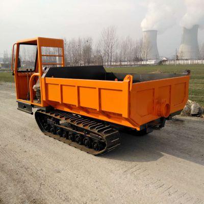 矿用履带车 履带运输车 单杠柴油动力四不像 履带式土方运输车