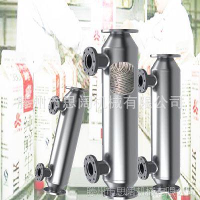 厂家加工定制 高效汽水换热器 暖通地热供暖蒸汽换热器