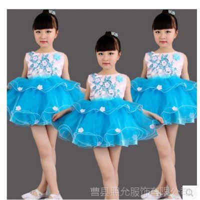 六一儿童节表演服装公主裙蓬蓬裙韩版女纱裙新款幼儿舞蹈演出服饰