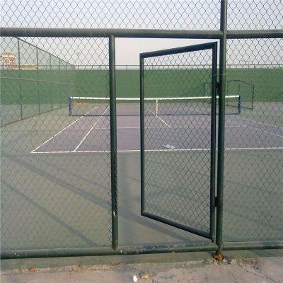 浸塑勾花护栏网 包塑丝勾花网 网球场围网