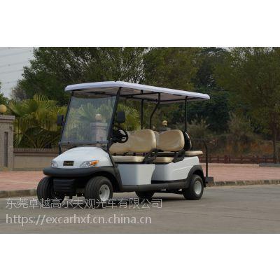 三亚二手白色6座电动高尔夫球车48伏4千瓦电机进口电控8只动力电池卓越品牌