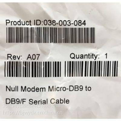 038-003-084 Micro-DB9-to-DB9-F EMC存储柜串口线 配置线