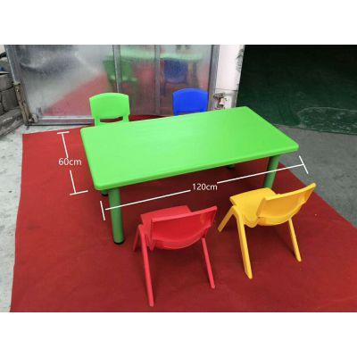 迎六一家具大优惠 北京彩色儿童塑料桌椅出租