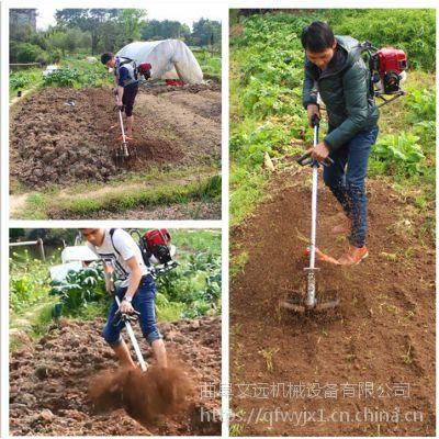 多功能苗圃基地背负式除草机 浅耕松土农用割草机