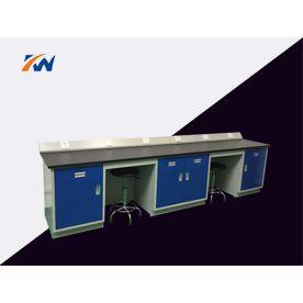 广州科玮供应 全钢实验边台 实验室家具