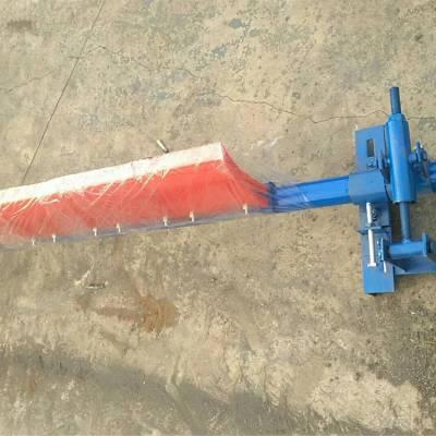 天德立H-1000型聚氨酯清扫器 头道输送带清扫器 带宽500-2000mm规格齐全