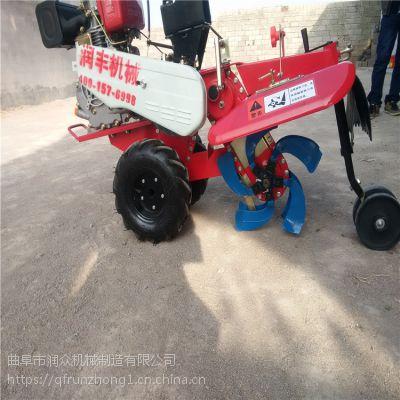 经济作物土豆田园管理机 不同传动方式开沟机 爬坡阶梯型强开沟机